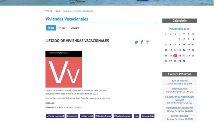 La web del Ayto. de Las Palmas de G.C. bloqueada por ASCAV