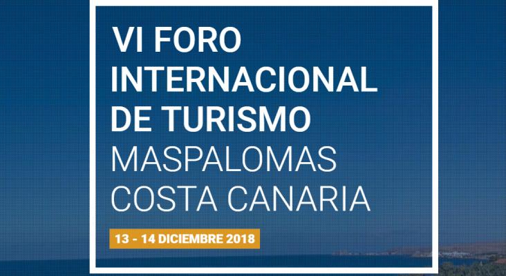 VI Foro Internacional de Turismo Maspalomas Costa Canarias