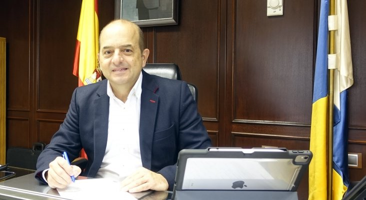 Juan José Cardona, presidente de Puertos de Las Palmas