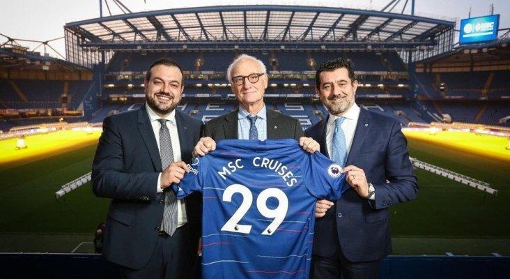 MSC Cruises se alía con el Chelsea F.C.
