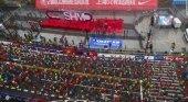 Más de 200 corredores descalificados por hacer trampas Foto: Maratón Internacional de Shanghai el 18 de noviembre vía CNN