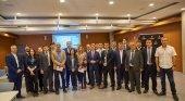 Delegación de Uzbekistan recibida por Alberto Bernabé, vicepresidente del Cabildo de Tenerife y consejero de Turismo, y por Vicente Dorta, consejero delegado de Turismo de Tenerife