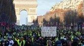La economía de París cae un 0,1% por la crisis de los 'chalecos amarillos'|Foto: CNN