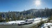 Más de 10.000 autocaravanas estacionarán en pistas de esquí durante el invierno
