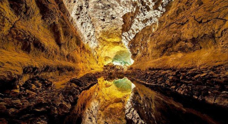Cueva de los Verdes, Lanzarote, Islas Canarias|Foto: Lviatour (CC BY-SA 3.0)