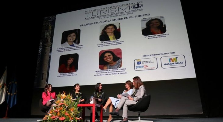 Liderazgo de la mujer en el turismo: Lenka Vikova, María Victoria López, Elena Toledo, Patricia Valenzuela y Mercedes Tejero