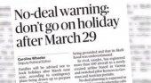 Filtración del Sunday Times deja en 'shock' a la industria de viajes británica