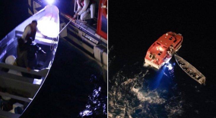Crucero de Royal Caribbean rescata a dos pescadores que llevaban 20 días en el mar |Foto: James Van Fleet vía Twitter