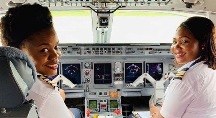 Un vuelo tripulado solo por mujeres hace historia en Mozambique|Foto: Débora Madeleine