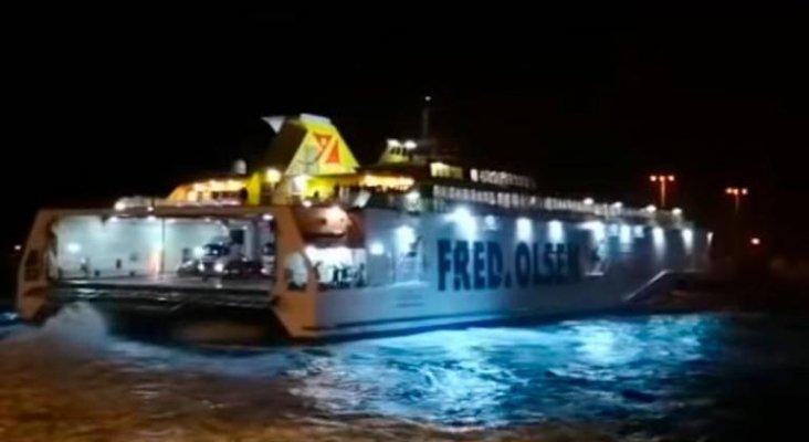 Pasajeros de Fred Olsen obligados a pasar la Nochebuena en el mar |Fotograma - Digma Martín