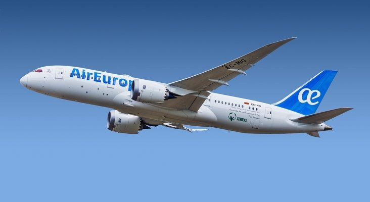 Air Europa bate su récord histórico de pasajeros
