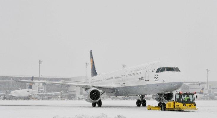 Aeropuerto de Múnich tras las nevadas|Foto: Aeropuerto de Múnich