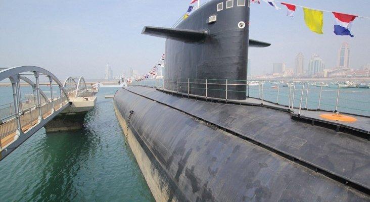 China expone su primer submarino nuclear como pieza de un museo |Foto: Daily Mail