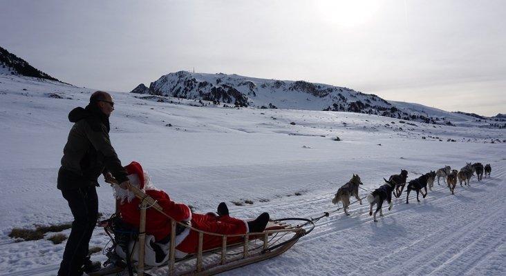 La falta de nieve trunca le temporada navideña de esquí|Foto: Baqueira Beret