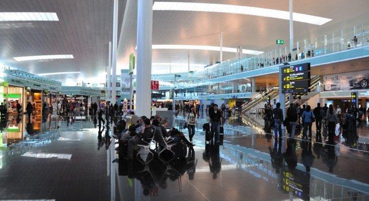 El personal de seguridad de El Prat irá a la huelga durante el Mobile World Congress |Foto: aeropuertos.net