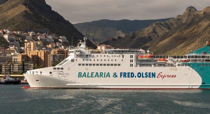 Navío de Baleària |Foto: fredolsen.es
