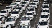 El sector del Taxi boicotea FITUR con una huelga indefinida contra las VTC|Foto: Europa Press vía El Español