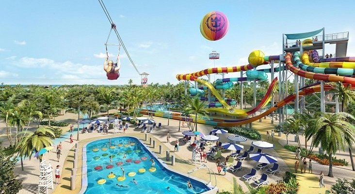 Royal Caribbean abrirá su primera isla privada en mayo| Foto: CocoCay, isla privada de Royal Caribbean- royalcaribbean.com