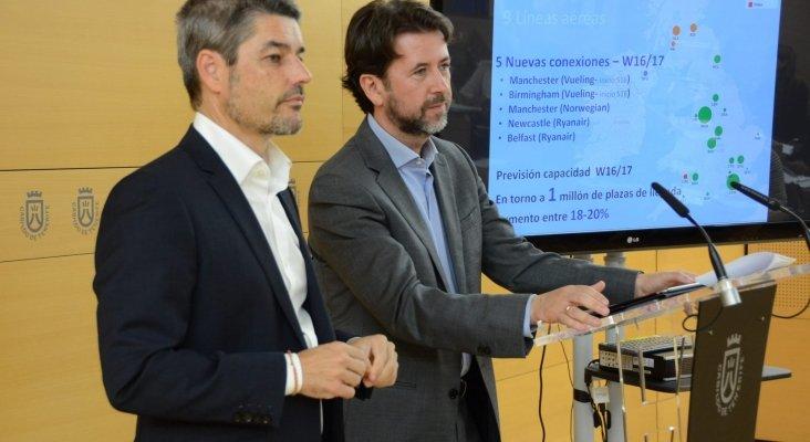 Carlos Alonso y Alberto Bernabe