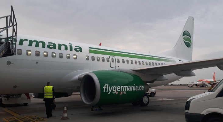 Avión de Germania