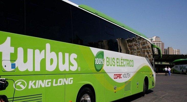 Chile presenta su primer autobús interurbano 100% eléctrico|Foto: Agencia Uno vía T13