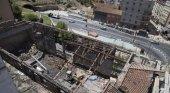 Restos de necrópolis medieval islámica amenazan nuevo hotel en Málaga | Foto: Solar del cine Andalucía- Sur