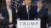 El empresario turístico Donald Trump, presidente de los Estados Unidos