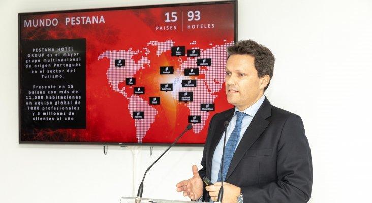 Pedro Raposo, director corporativo de Pestana Hotel Group