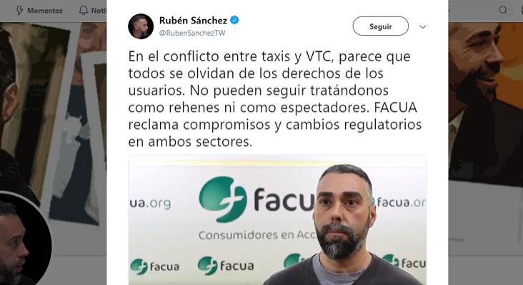 """""""Hay que proteger al taxi, pero también los derechos de los consumidores a elegir"""""""