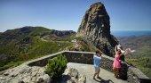 Netflix recala en La Gomera para rodar su nueva producción cinematográfica | Foto: Mirador de los Roques, La Gomera- holaislascanarias.com