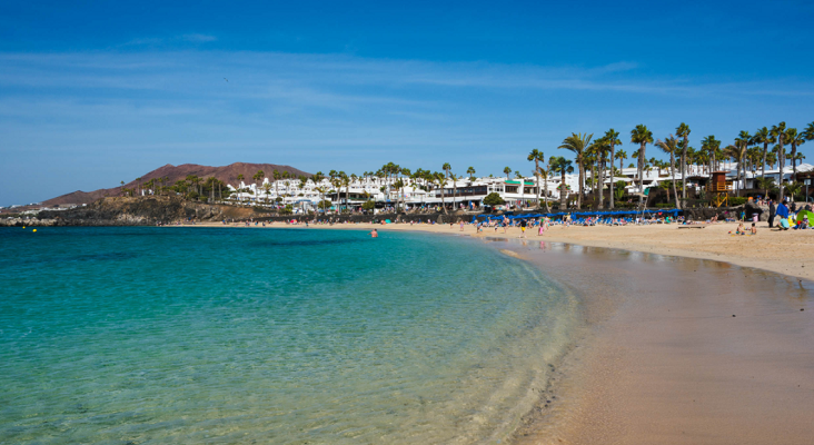 Lanzarote, mejor destino de invierno para los turistas irlandeses   Foto: Playa Flamingo, Yaiza (Lanzarote)- turismolanzarote.com