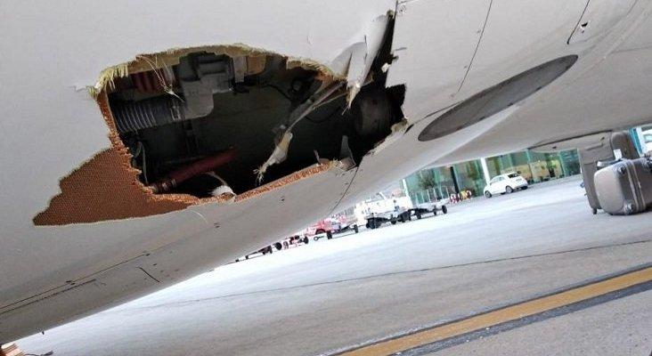 Air Europa señala a Swiftair como responsable del accidente de Palma | Foto: Diario de Mallorca