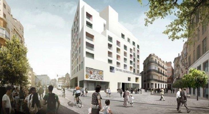 H10, decisiva para sacar adelante el hotel Moneo en Málaga| Foto: Recreación del Hotel Moneo- Málaga Hoy