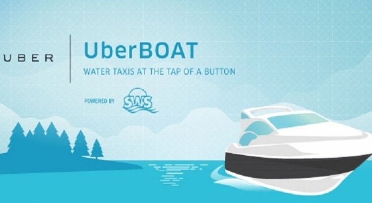 Uber lanza su servicio de transporte por mar
