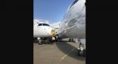 Chocan dos Embraer 190 durante una prueba de motor   Foto: EnElAire