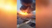 El fuego arrasa el chiringuito favorito de Eva Longoria en Marbella | Foto: El Mundo