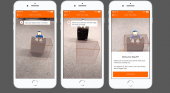 La 'app' de easyJet incluye una nueva función para medir maletas