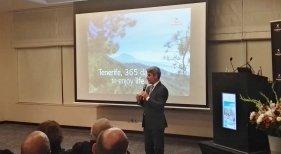 """Alberto Bernabé, consejero de Turismo de Tenerife: """"Más de 10.000 turistas israelíes visitaron Tenerife de marzo a diciembre de 2018"""","""
