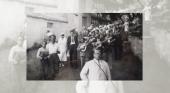 El impulso turístico al folclore canario | Foto: Parranda acompañando a los turistas en la bodega Mocanal- Islas Bienaventuradas