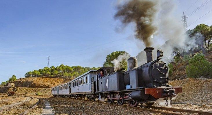 Un viaje en tren al pasado minero de Huelva   Foto: parquemineroderiotinto.es