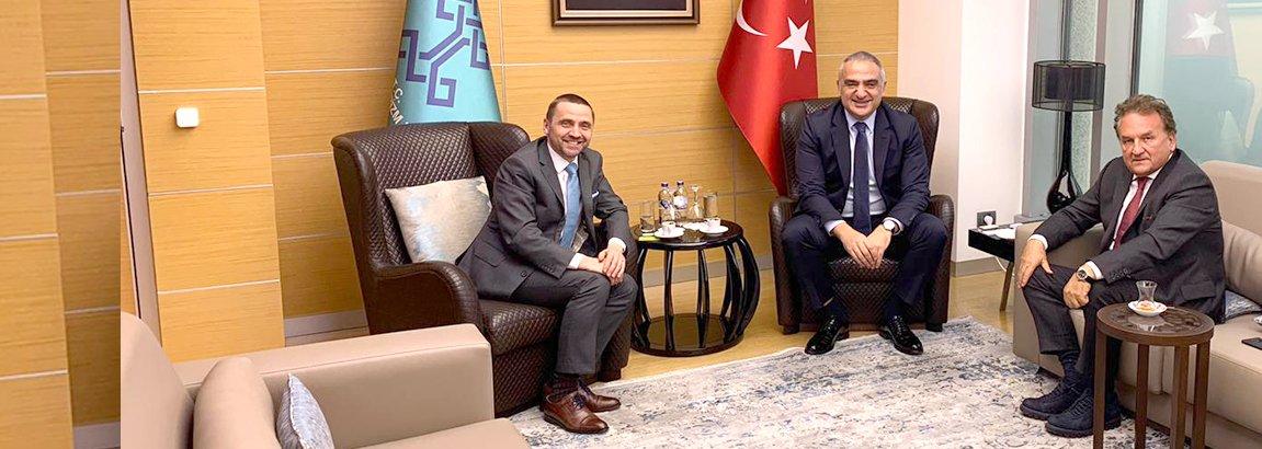Thomas Bösl, Mehmet Nuri Ersoy y Hüseyin Baraner
