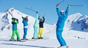 Esquí en Laax | Foto: Laax- expedia.mx