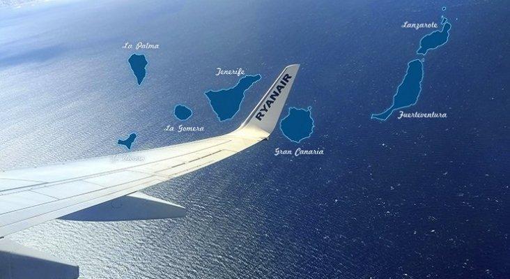 Ryanair amenaza con cerrar bases en Canarias