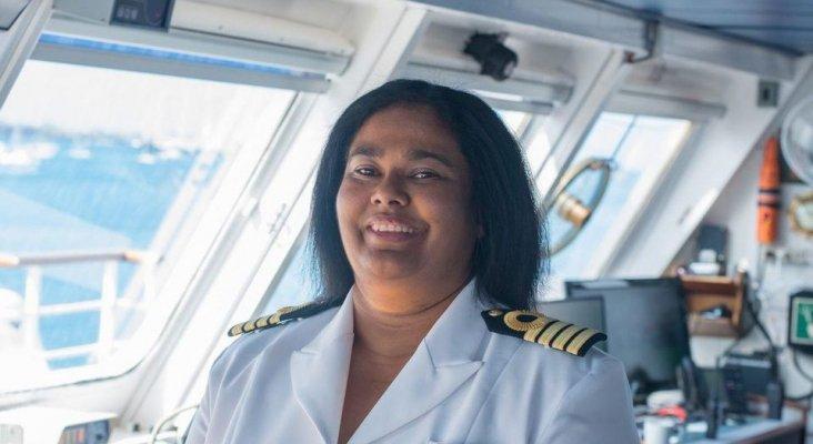 Belinda Benett es la primera mujer negra que se convierte en capitana de cruceros|Foto: Forbes