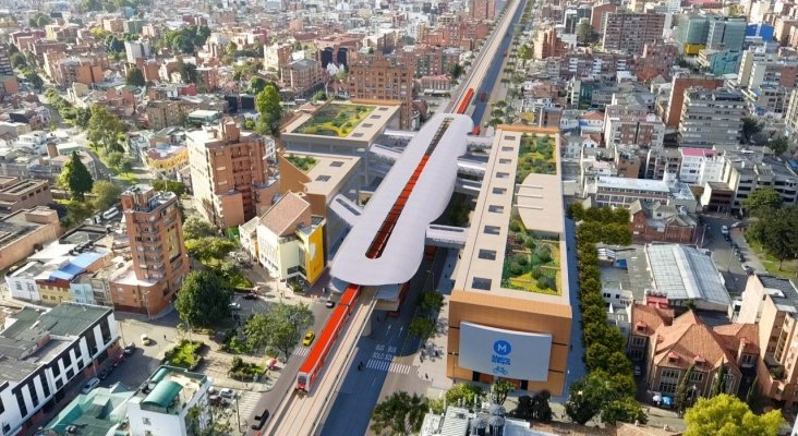 Españoles y chinos pugnan por la construcción del metro de Bogotá