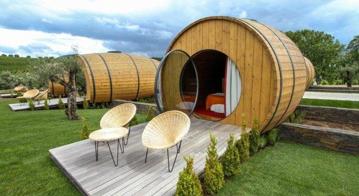 Los amantes del vino ya pueden dormir en un barril | Foto: booking.com