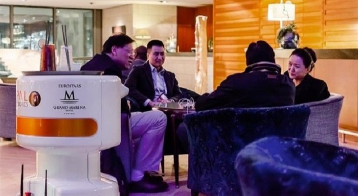 Tiago, el robot que servirá cócteles en un hotel de Eurostars   Foto: Europa Press
