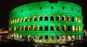 El mundo se tiñe de verde para honrar a San Patricio