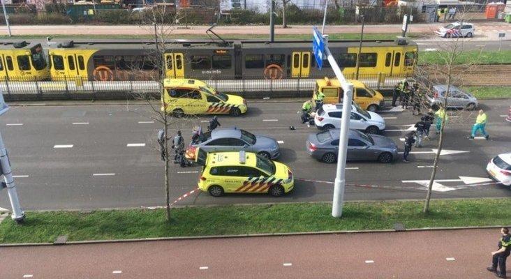 Atacante abre fuego en tranvía dejando numerosos heridos en Utrecht (Países Bajos)  Foto DUIC