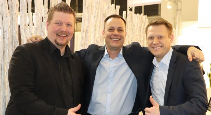 Rainer Gnyp, Peter Möschl und Hauke Moll,  rtk Reiseland |Foto: Nielsen